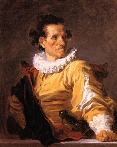 The Warrior, c.1769 - Jean-Honore Fragonard
