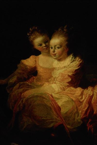 Two sisters - Jean-Honore Fragonard