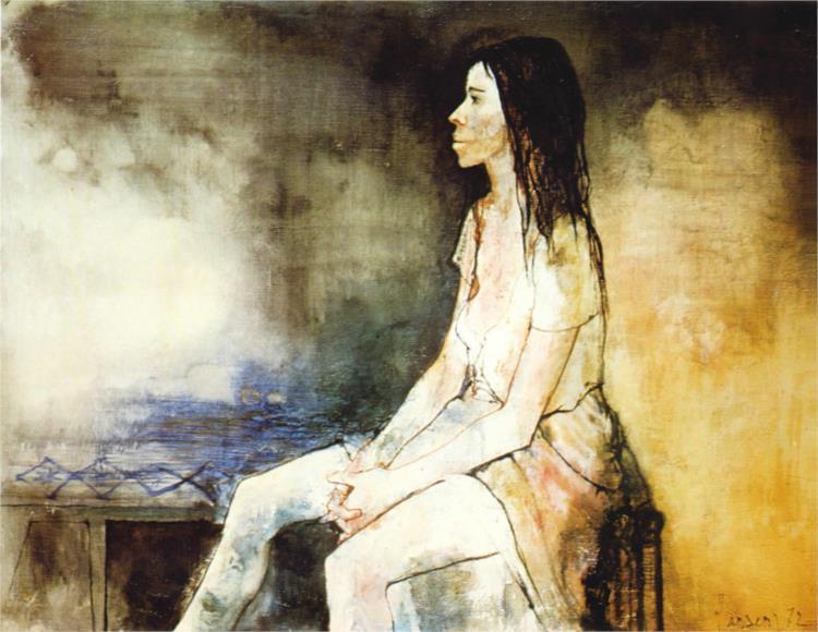 Adelita, 1972 - Jean Jansem