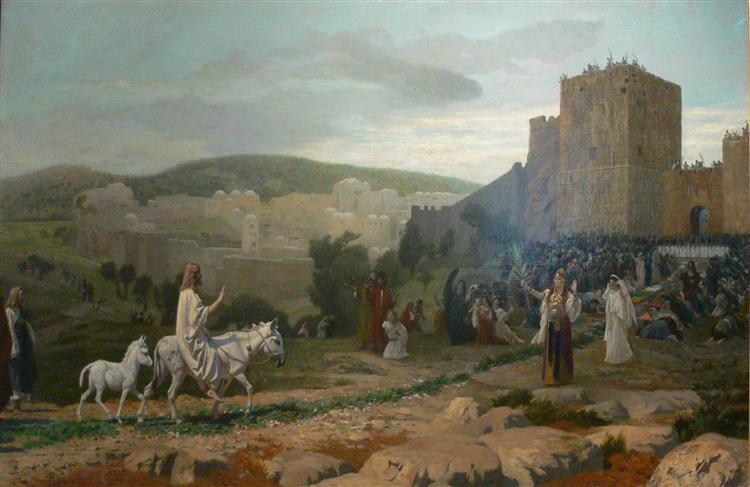 Entry of the Christ in Jerusalem, 1897 - Jean-Léon Gérôme