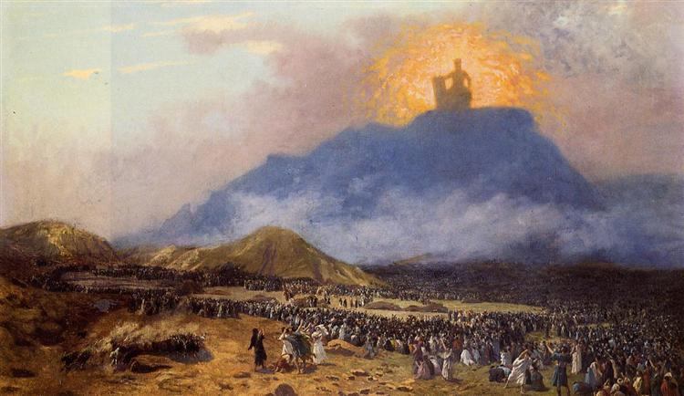 Moses on Mount Sinai, 1895 - 1900 - Жан-Леон Жером