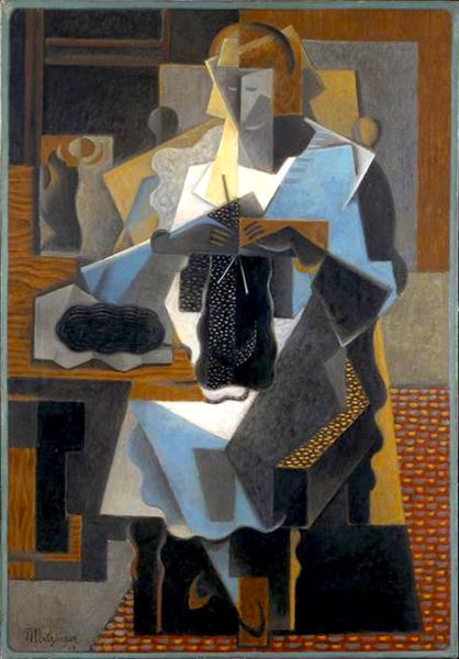 La Tricoteuse, 1919 - Jean Metzinger