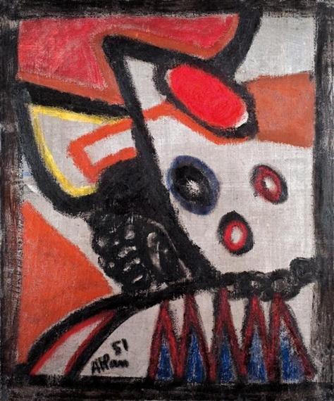 Composition, 1951 - Jean-Michel Atlan