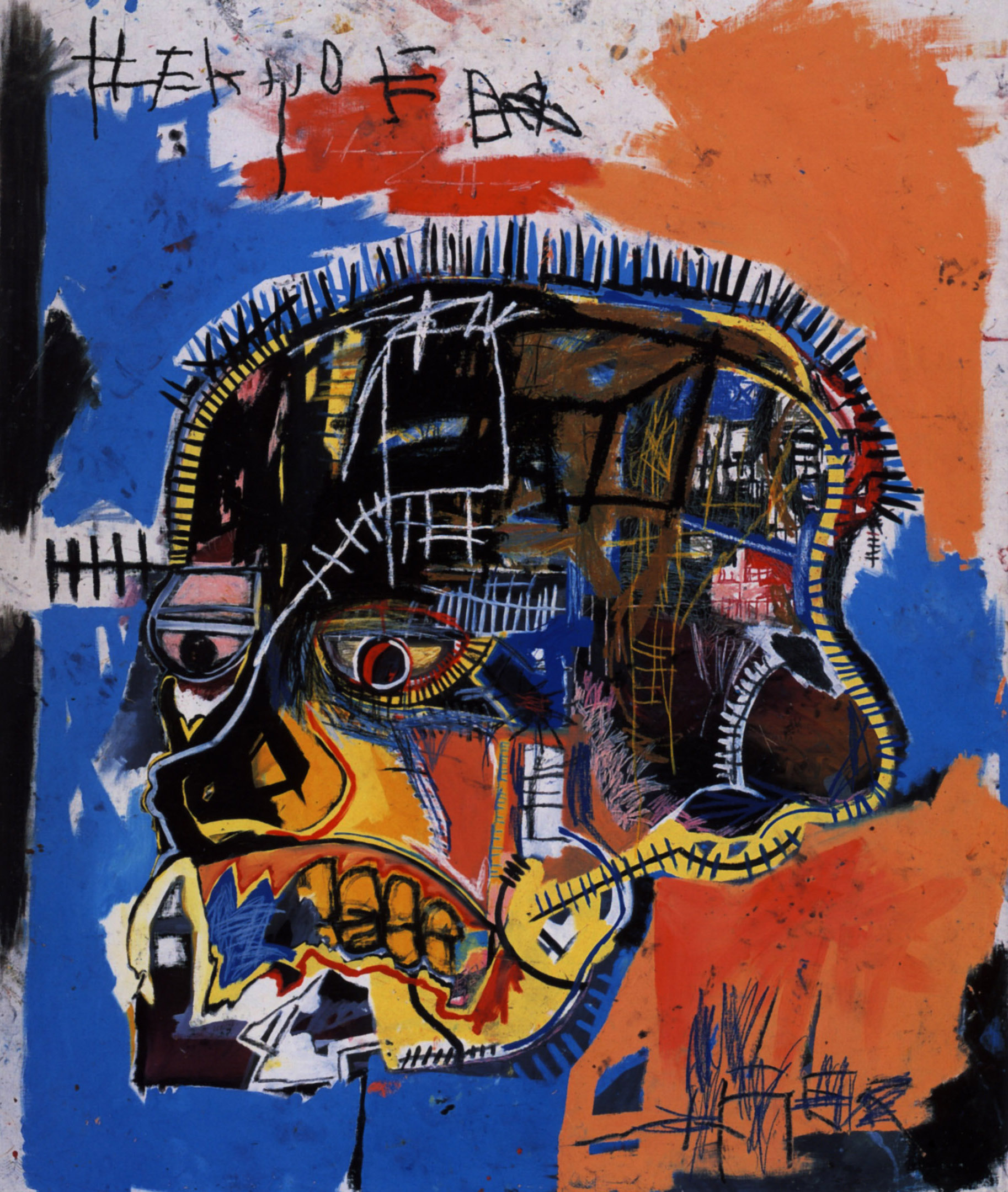 Yi Wei Lim, yiweilim, basquiat, jean-michel basquiat, basquiat movie, basquiat film, basquiat artist, basquiat hong kong, gagosian, skull, black painter, painter, norman, psycho