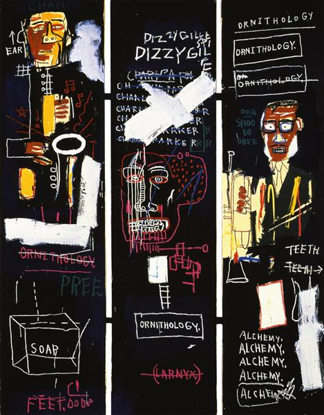 Horn Players, 1983 - Jean-Michel Basquiat