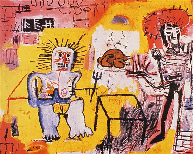 Rice and Chicken, 1981 - Jean-Michel Basquiat