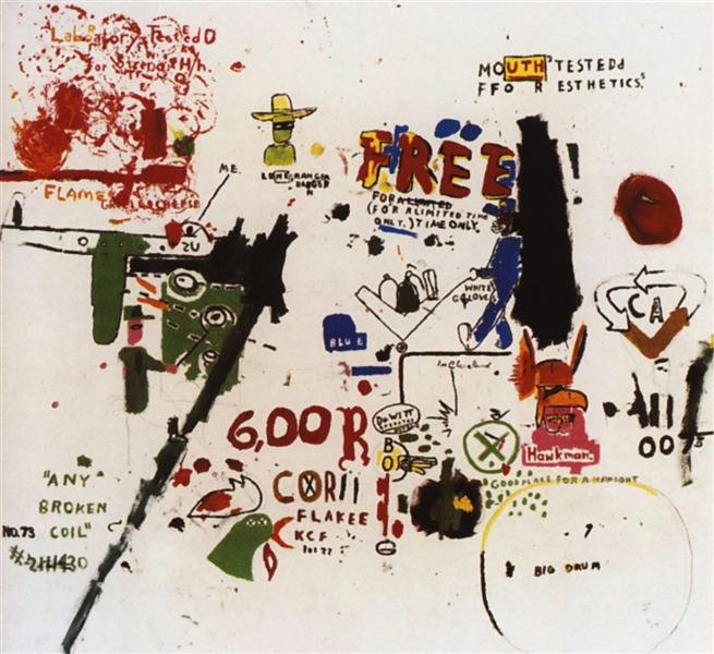 To Be Titled, 1987 - Jean-Michel Basquiat