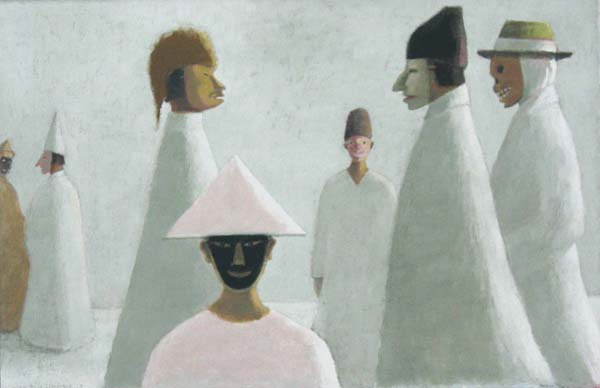 Les masques, 1973 - Jean Paul Lemieux
