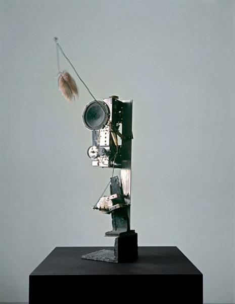 Radio-Skulptur, 1962 - Jean Tinguely