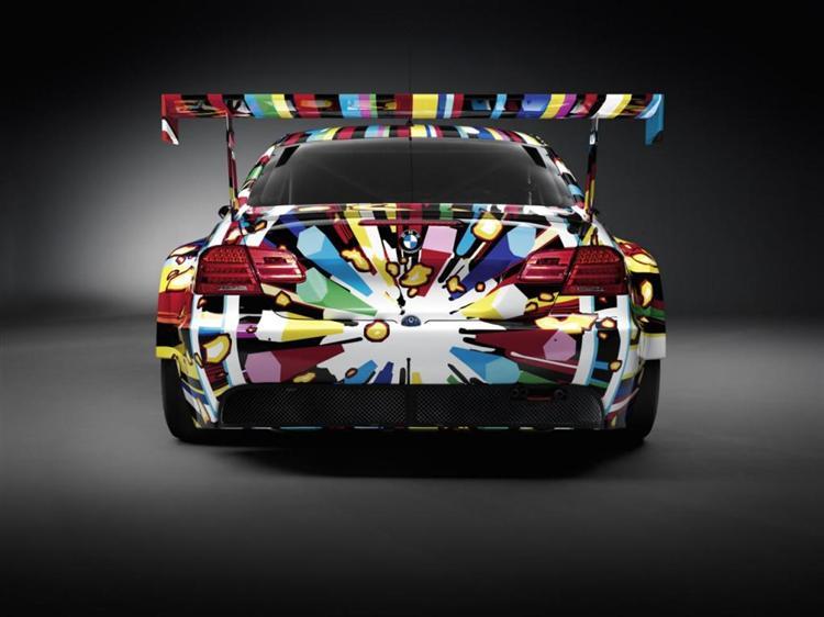 BMW Art Car, 2010 - Jeff Koons
