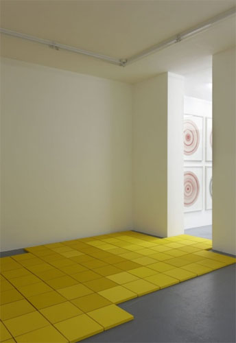 Corrugated Floor Works - Jill Baroff