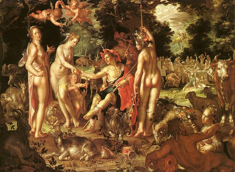 The Judgment of Paris, 1615 - Йоахим Ейтевал