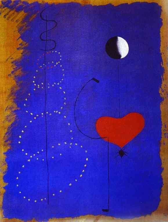 Resultado de imagen de Joan Miró, Bailarina II (1925)