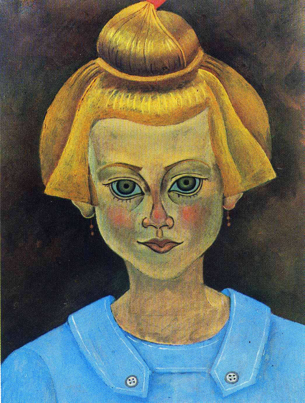 Portrait of a Young Gi... Joan Miro Fauvism