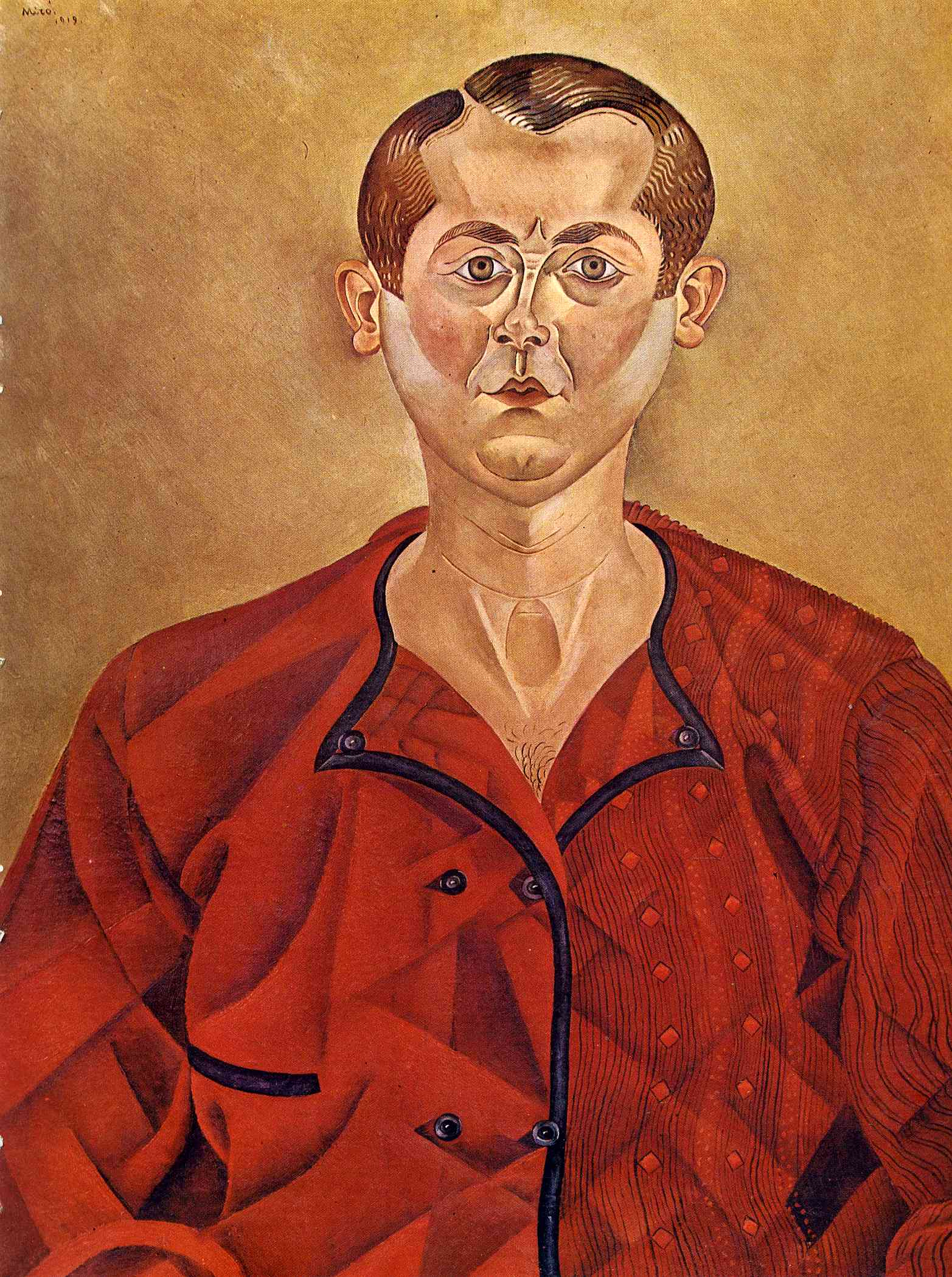 Self-Portrait - Joan M... Joan Miro Fauvism