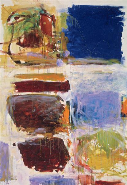Blue Territory, 1972 - Joan Mitchell