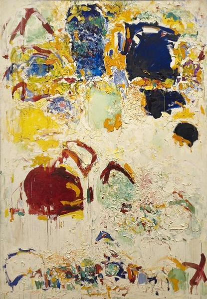Diabolo (neige et fleurs), 1969 - Joan Mitchell