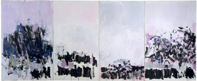 La Vie en Rose, 1979 - Joan Mitchell