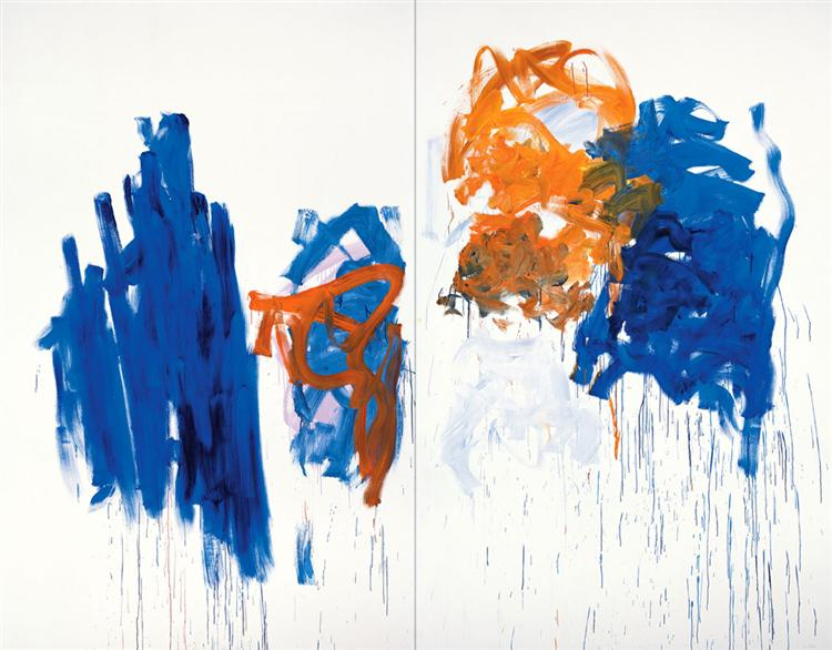 Merci, 1992 - Joan Mitchell