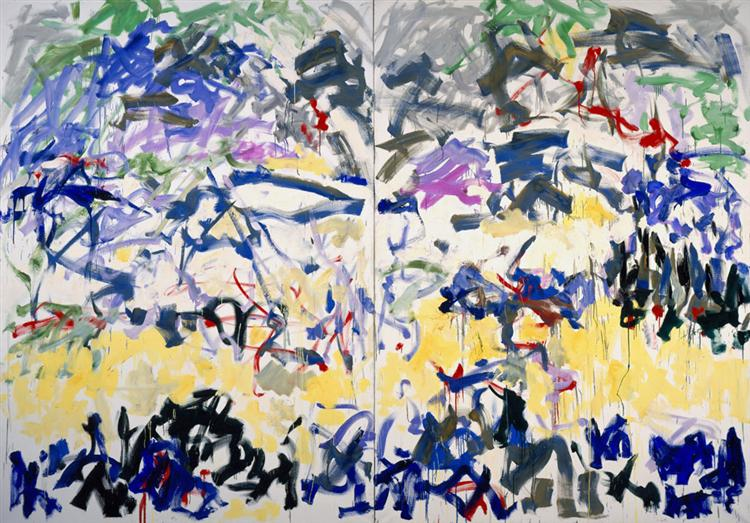 River, 1989 - Joan Mitchell