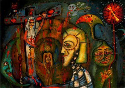 Untitled, 1947 - Joan Ponc