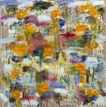 Pumpkin Field III - Джоан Снайдер