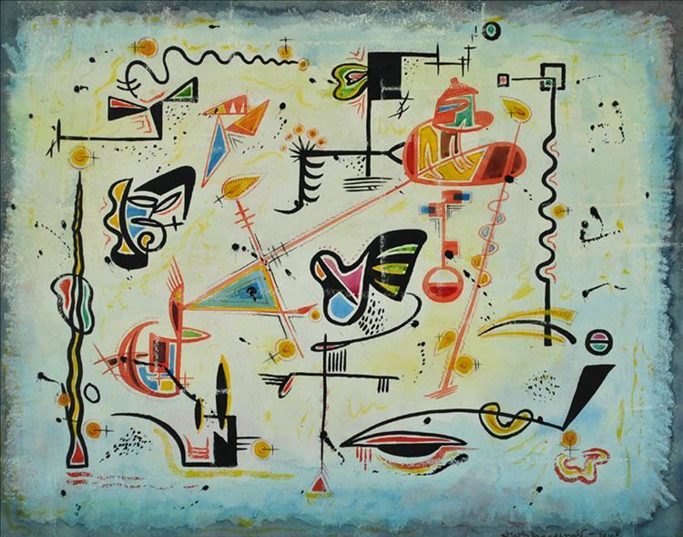 Fantasy in Equilibrium, 1948 - Jock Macdonald