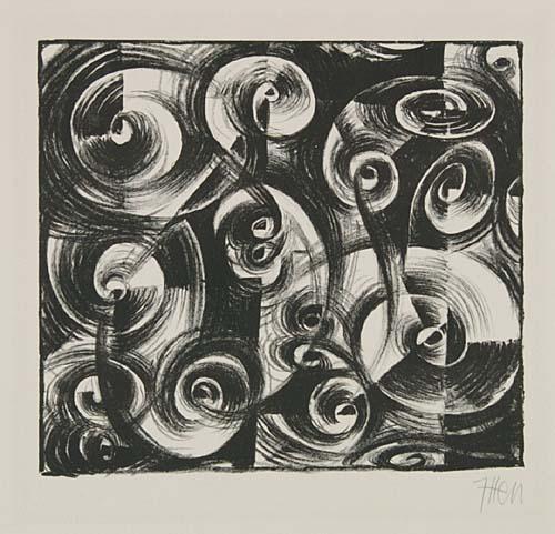 Linienrhythmus, 1919