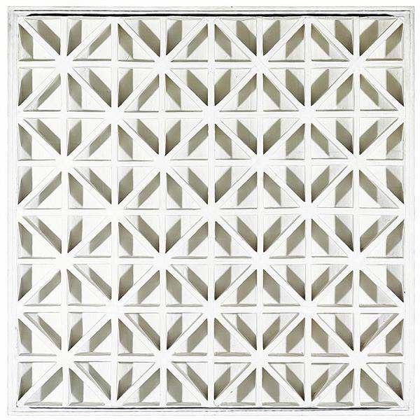 Square with Diagonals, 1967 - Johannes Jan Schoonhoven
