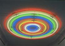 Untitled (Target), 2001 - John Armleder