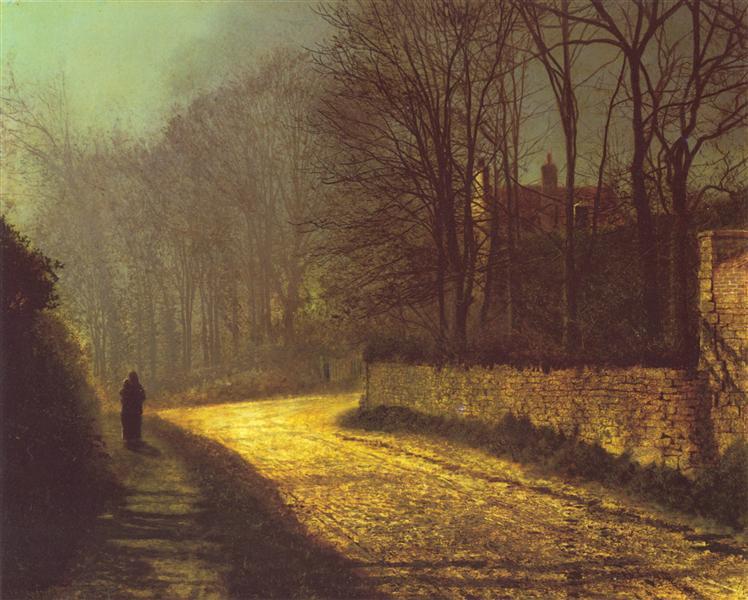 The Lovers - John Atkinson Grimshaw