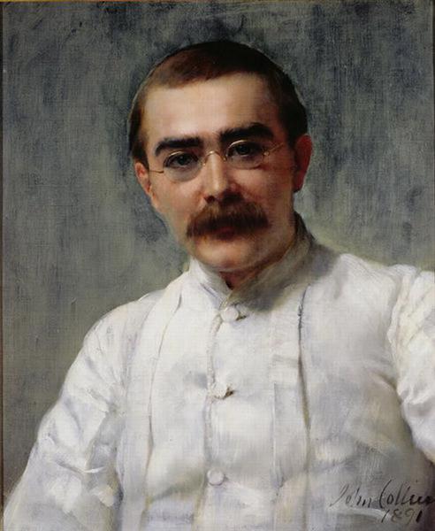 Rudyard Kipling, 1891 - John Collier