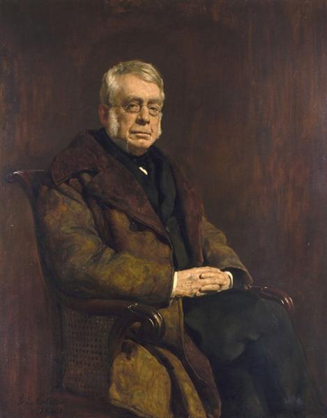 Sir George Biddell Airy, 1883 - John Collier