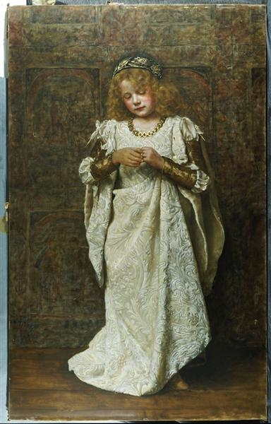 The Child Bride, 1883 - John Collier