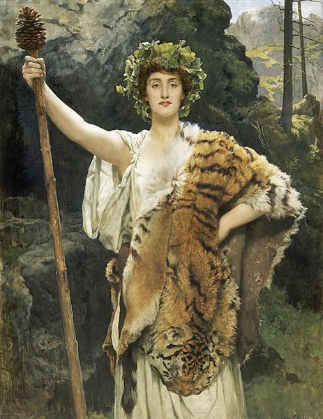 The Priestess of Bacchus, 1889 - John Collier