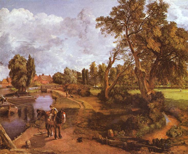 Flatford Mill, 1817 - John Constable