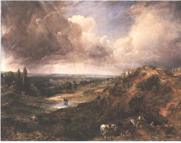 Pond in Branchhill - John Constable