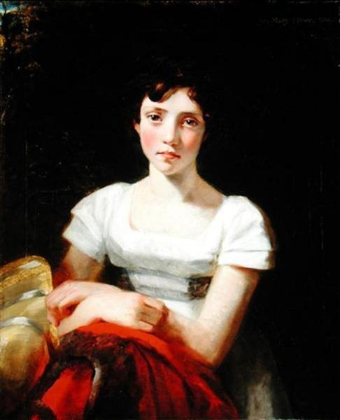 Portrait of Mary Freer, 1809 - John Constable