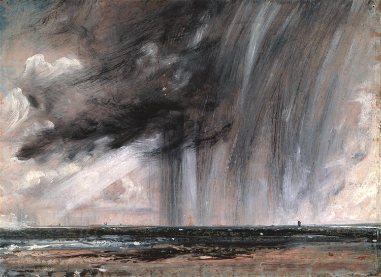 Rainstorm over the Sea, 1824 - 1828 - John Constable