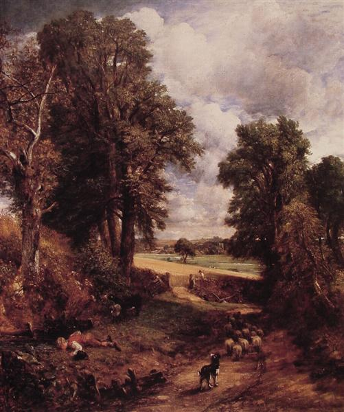 The Cornfield, 1826 - John Constable