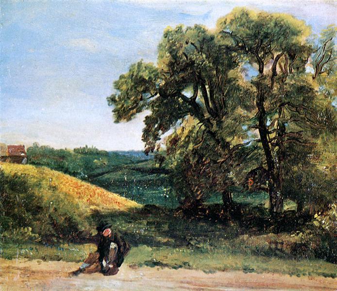 Traveller - John Constable
