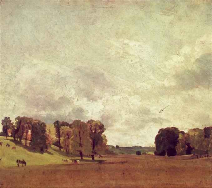 View at Epsom, 1809 - John Constable