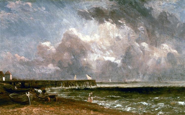Yarmouth Pier, 1822 - John Constable