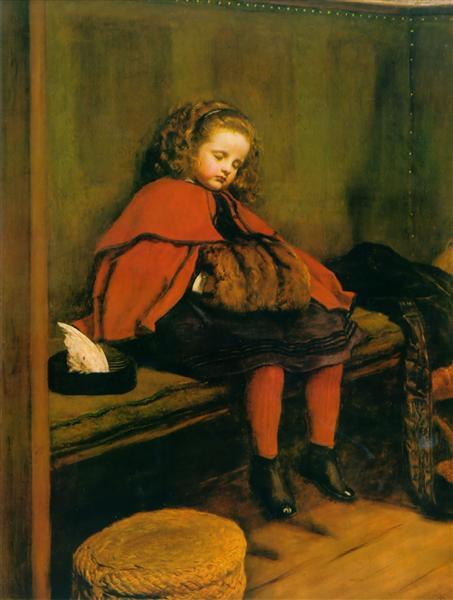 My Second Sermon, 1864 - John Everett Millais