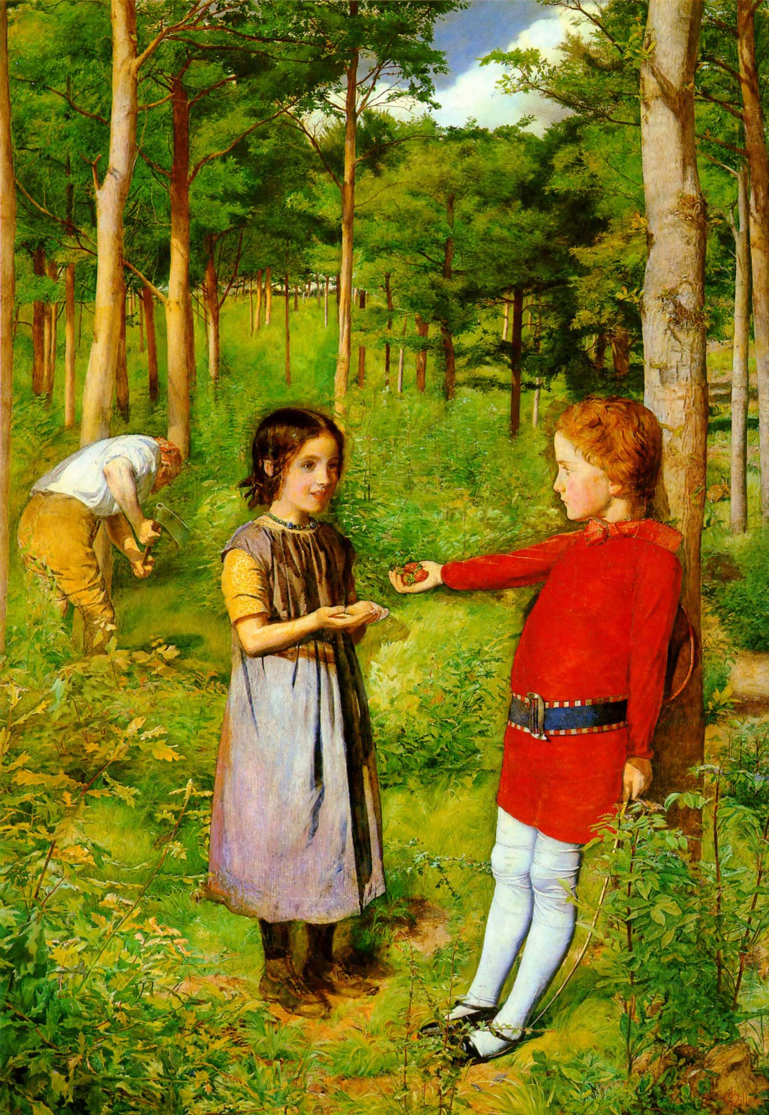 The Woodman's Daughter, 1851