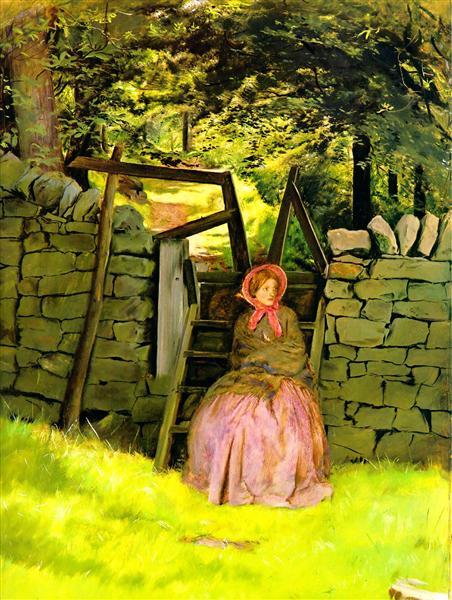 Waiting, 1854 - John Everett Millais