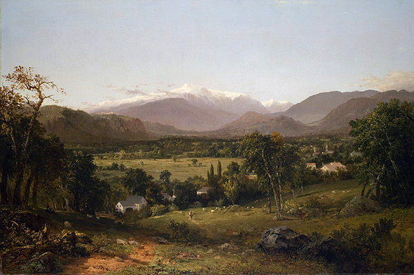 Mount Washington from the Valley of Conway, 1869 - John Frederick Kensett