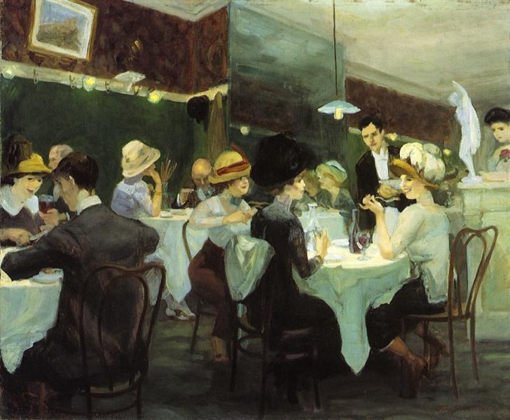 Renganeschi's Saturday Night, 1912 - John French Sloan