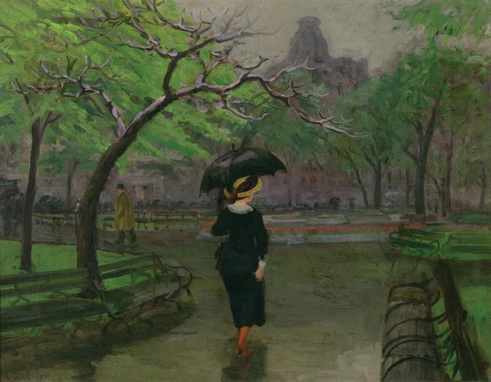 Spring Rain, New York, 1912 - John French Sloan