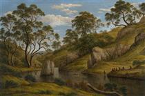 The bath of Diana, Van Diemen's Land - Джон Гловер